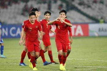 热身赛  :   中国U18复仇印尼U19
