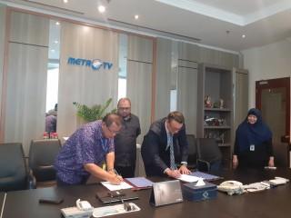 印尼传媒集团与比利时公司Mydible Belgian在食品业务展开合作
