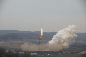 外媒 : 中国成功发射高分十二号卫星
