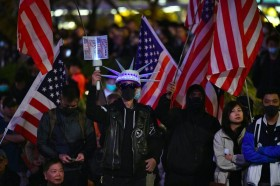 港民欢迎美方签署香港人权与民主法案