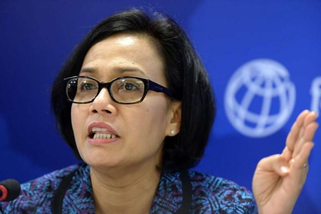 Indonesia Finance Minister Sri Mulyani Indrawati
