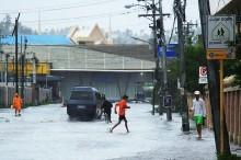 """强台风 """"北冕"""" 登陆菲律宾影响东南亚运动会"""