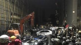 中国浙江污水罐体倒塌引发事故  目前已造成24人伤亡