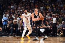 NBA常规赛5日综述 :  湖人力克爵士    国王不敌开拓者
