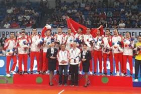 2019年东南亚运动会  :    印尼团队共夺267枚奖牌排名第4