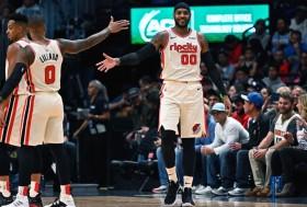 NBA常规赛 : 掘金114-99胜开拓者