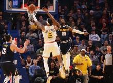 NBA常规赛 : 掘金 134-131 勇士