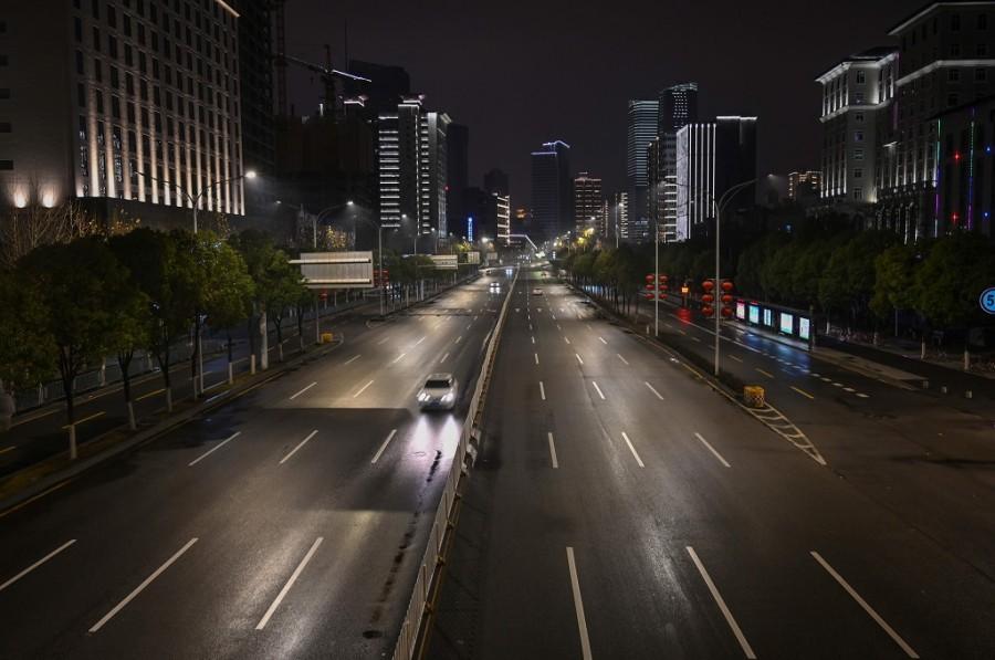 Wuhan, Hubei Province. (photo :  AFP/HECTOR RETAMAL)