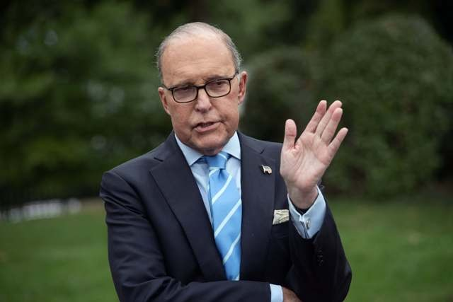 Larry Kudlow (photo : AFP)
