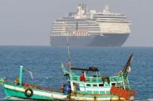 """外交部 : """"威士特丹号""""邮轮上印尼海员无确诊新冠肺炎病例"""