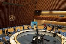 第73届世界卫生大会拉开闭幕 : 会议通过应对新冠肺炎决议疫苗
