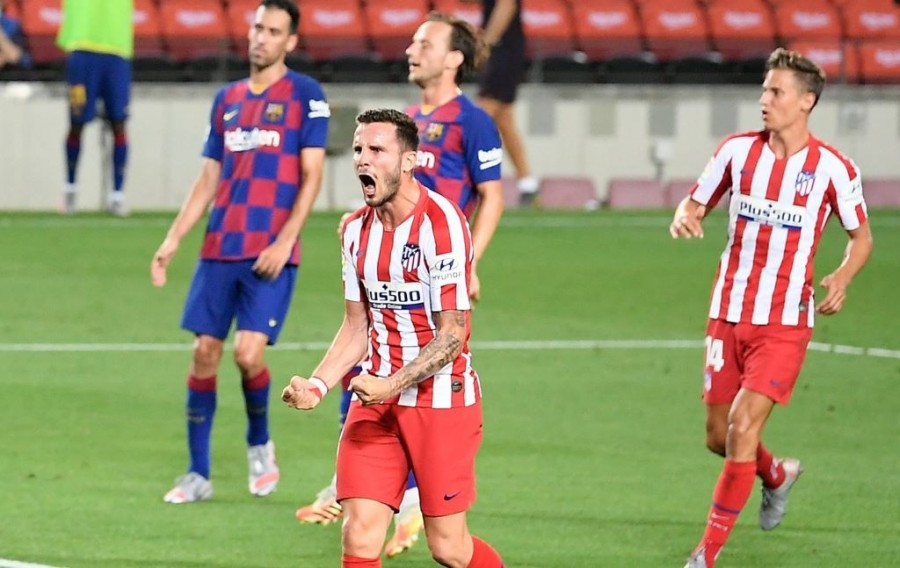 Atletico Madrid 2-2 Barcelona (Photo: AFP/Lluis Gene)