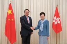 外媒 : 陈国基就任香港维护国家安全委员会秘书长