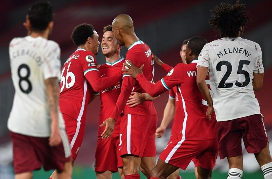 Liverpool vs Arsenal. (Photo: AFP/Paul Ellis)