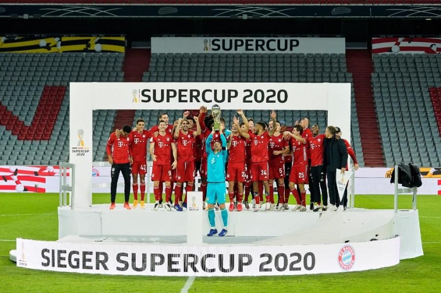 Bayern Munich win the German Supercup.  (twitter: @FCBayern)