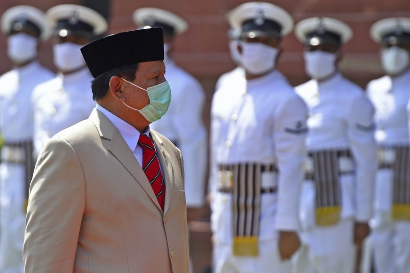 Prabowo Subianto. (photo : AFP)