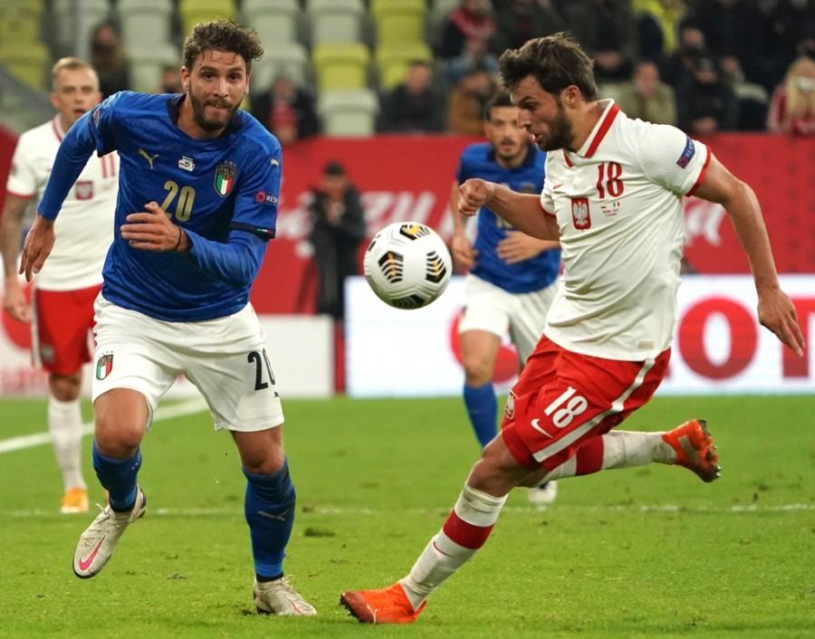 Poland vs Italy. (photo : JANEK SKARZYNSKI / AFP)