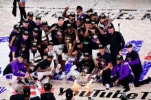 湖人4-2热火夺NBA总冠军  十年后再夺冠
