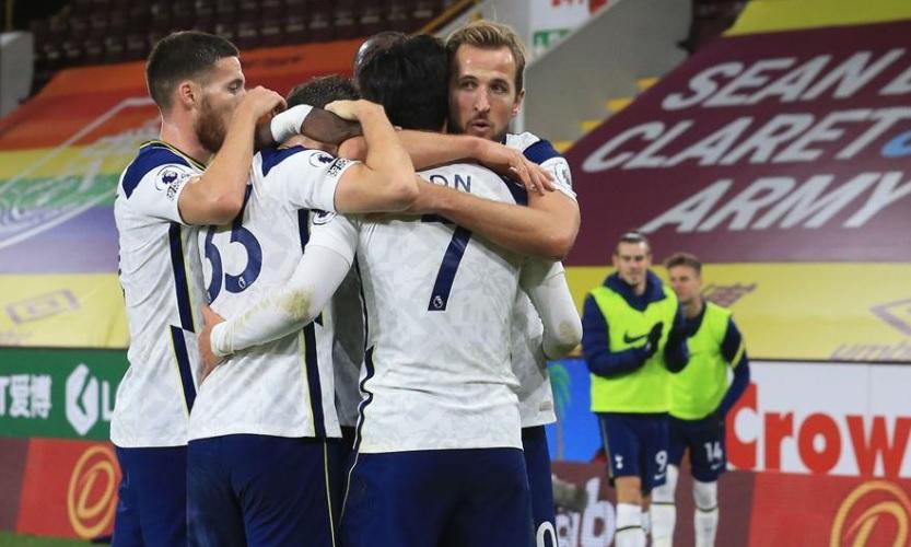 Burnley 0-1 Tottenham Hotspur (photo : XInhua)