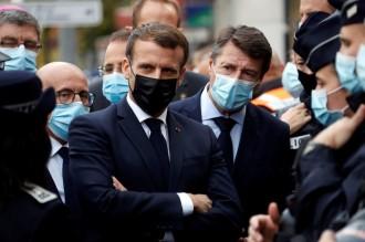 外交部 : 强烈谴责法国总统马克龙涉伊斯兰教言论