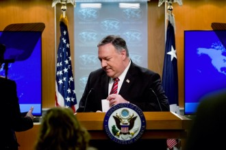 中国驻印尼大使肖千就美国务卿蓬佩奥错误言论发表谈话